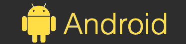Android Logo yellow
