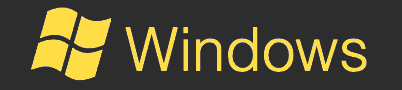 Windows Logo yellow